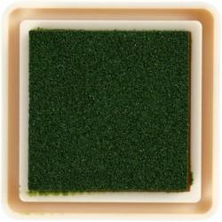 mini tampon encreur usage scrap carterie papier vert