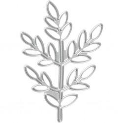 Matrice de Découpe métal, feuillage branche 1pièce , dies