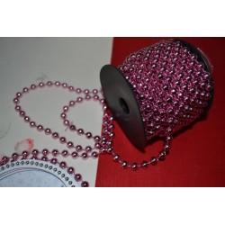 Ruban de perles, rose,...
