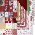 Bloc papier Scrap 36 Design NOEL 30.5x30.5cm  Collect. Vivi Gade 120/180gr