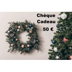 Chèque Cadeau valeur 50 €...