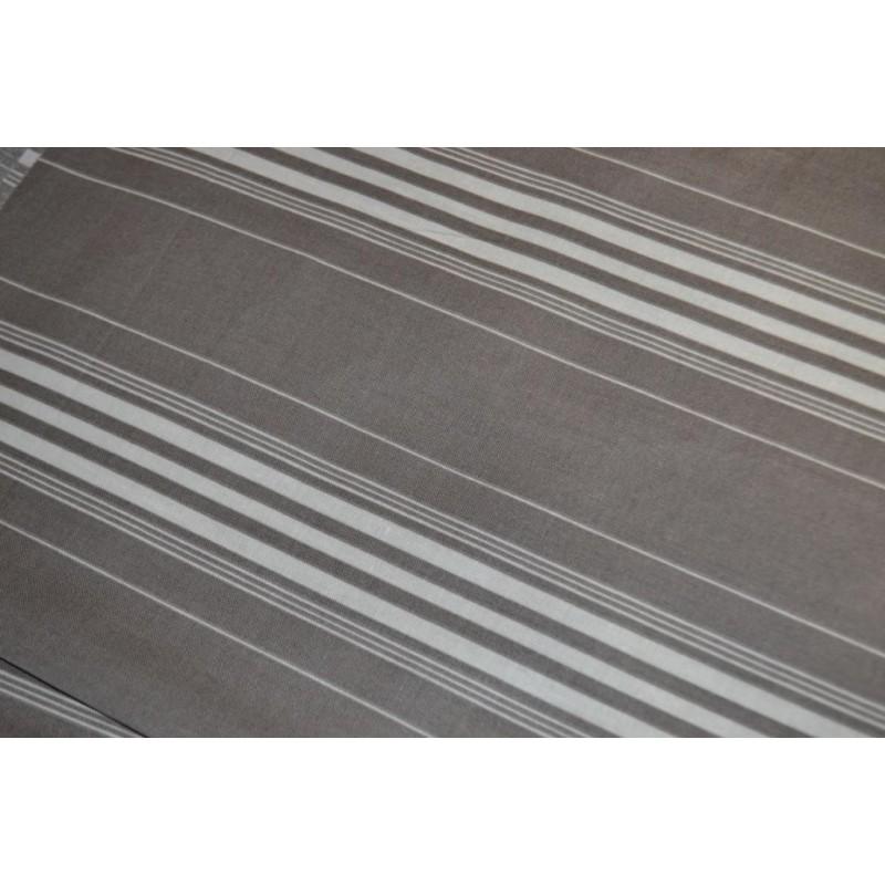 Tissu Enduit imitation toile matelas  Coupon 1,50 m x 0.65 cm