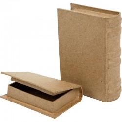 Boîte en forme de livre lot...