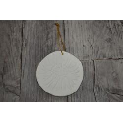 Boule déco plâtre Ø 8 cm...