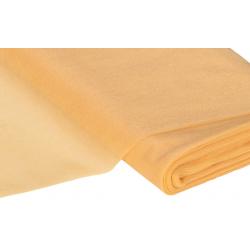 Tulle coloris Or vendu par 0.50cm,  largeur 1.50
