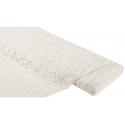 Coupon tissu dentelle fine champagne larg 1.50m (par 0.50 cm)