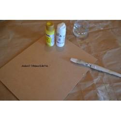 Plaque Médium 30 x 30 cm pour images 3 D ou Support Tableau Peinture