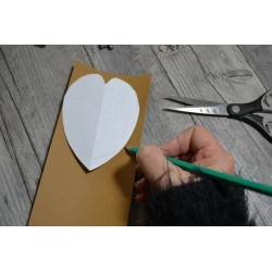Pochette Créative Patron ETUI x4 DIY en Imitation Cuir