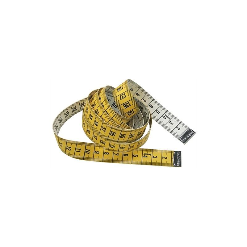 Mètre ruban couture jaune 1,50 m