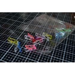 Pinces Wonder Clips Mix de couleur Petites 10 pièces