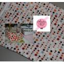 """Mon SacCreaExpress :  Coudre une Corbeille Textile """"Vitamines"""", 35 cm x 35 cm"""