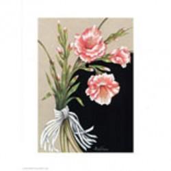"""Image Bouquet """"3 fleurs"""" 24..."""