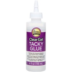 Colle clear gel tacky glue...