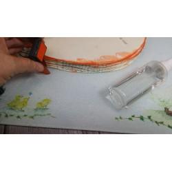 Vaporisateur flacon à pompe fines gouttelettes en plastique pour pulvériser  :  100 ml