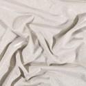 Tissu Jersey Lurex Pailleté Argent sur fond Cristal - Par 10 cm/140