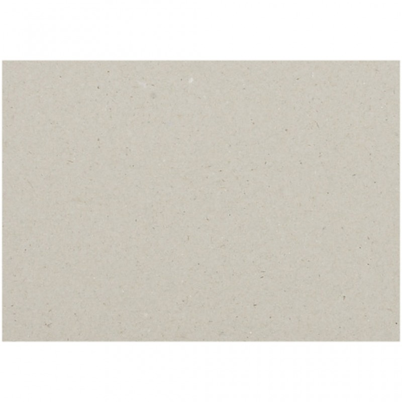 Plaque de carton de structure gris A4, 21x29,7 cm, ép 2mm à l'unité