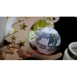 Film Rétractable Manchon Jour de Printemps pour 3 boules ou oeufs