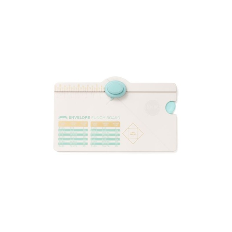 Punch Board Mini outil Petites enveloppes WE R MEMORY KEEPERS