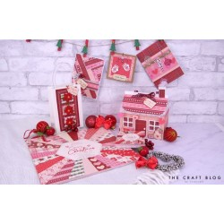 Bloc papier 24pg Scrap Cosy Christmas de PAPER ADDICTS 30x30cm