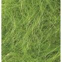 Fibres de sisal naturel déco, vert clair, 50 g