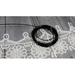 Fil aluminium Ø  2mm diamètre Noir bijoux home deco loisirs créatifs