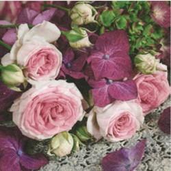Serviette en papier Bouquet...