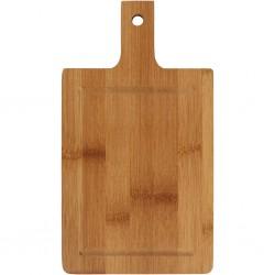 Planche à découper, L: 25 cm, l: 14 cm, Bambou, 1pièce, ép. 1,4 cm