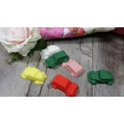 Pain de savon à mouler pour fabrication artisanale pain de  100 gr coloris Vieux rose