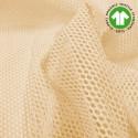 Tissu Filet en coton BIO coloris Naturel, Par 10 cm