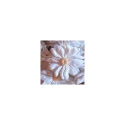 """Fleur tissu coton vintage """"La fleur de Louise"""" (réalisée à la main)  ( Vendu à l'unité)"""