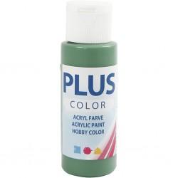 Peinture Acrylique Plus Color, Forrest Green, 60 ml, couvrante, 1 Flacon