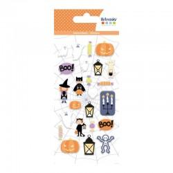 Images Autocollants puffy 'Artemio - Halloween' Déguisements, Automne