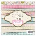 Bloc papier Scrap Carterie 15 cm x 15 cm -PAPER PAD PPSL11
