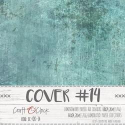 Couverture spécial Album SCRAP COVER-14 Vert bleuté 170 gr