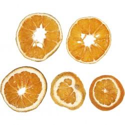 Tranches d'oranges Naturelles  Séchées, 40-60 mm, 5 Pièces, 1 sachet