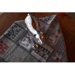Pompon Textile Nylon Rose petit 7,5 cm breloque textile, Vendu à l'unité