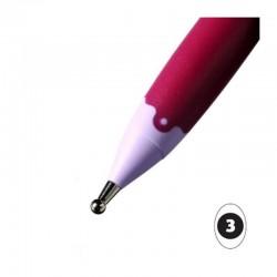 Stylet bille 3 mm outil de gaufrage en acier inoxydable, PERGAMANO