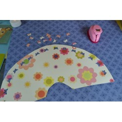 Perforatrice (S) petit modèle découpe papillon  motif 1.6 cm