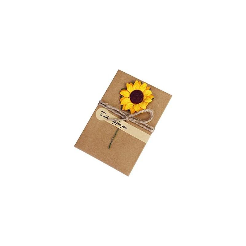 Fleurs en papier planche 15 Tournesols Embellissement