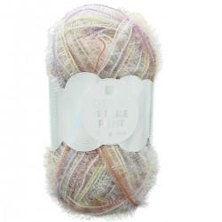 Fil à crochet/Tricot Creative laine Bubble Print chiné pastel
