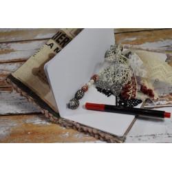 Perles rondes Luster en verre cirée effet nacré blanc 8 mm, 20 p.