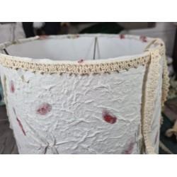 Ruban tissu adhésif Masking Tape - washi tape Dentelle coton beige