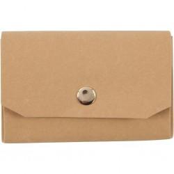 Porte-monnaie en papier faux cuir, lavable 11x8cm Ecologique