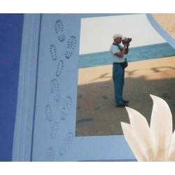 Plioir plastique, Outil pour Scrapbooking et Carterie 15 x 2,2 cm