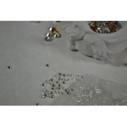 Strass Chatons cristal Bleu 4 mm (Sachet : 20 gr)