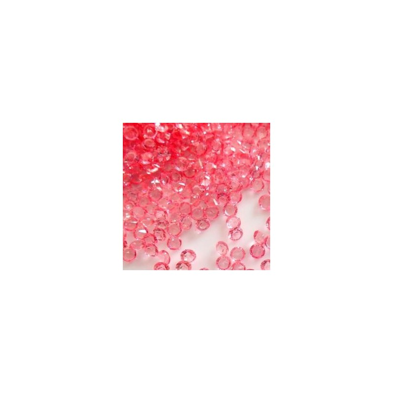 Strass Chatons cristal Rose Pink 4 mm  (Sachet : 20 gr)