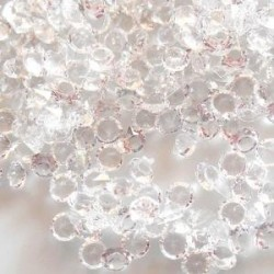 Fil Résille Tubulaire Blanc diamètre 8 mm (Sachet : 1 m)