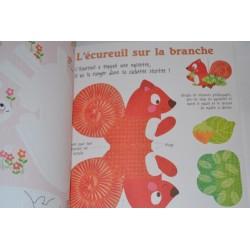 """Livre d'Activités Enfants """"Mes Mobiles d'animaux A créer"""" 24 éléments"""
