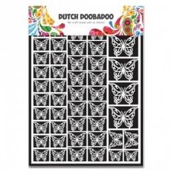 """Dentelle de papier forme papillon """"Dutch doobadoo"""""""