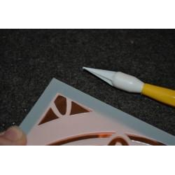 Tapis & outil pour piquage  : Kit Tapis en feutre et Poinçon avec manche en bois